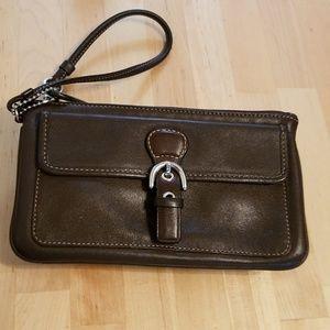 Coach Vintage wristlet coin purse cardholder